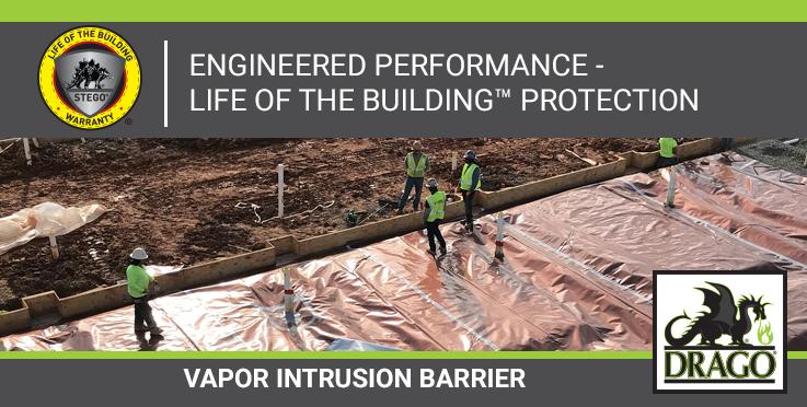 Drago Wrap Vapor Intrusion Barrier