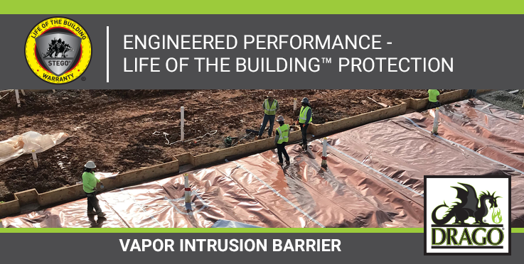 Drago Wrap Vapor Intrusion Barrier