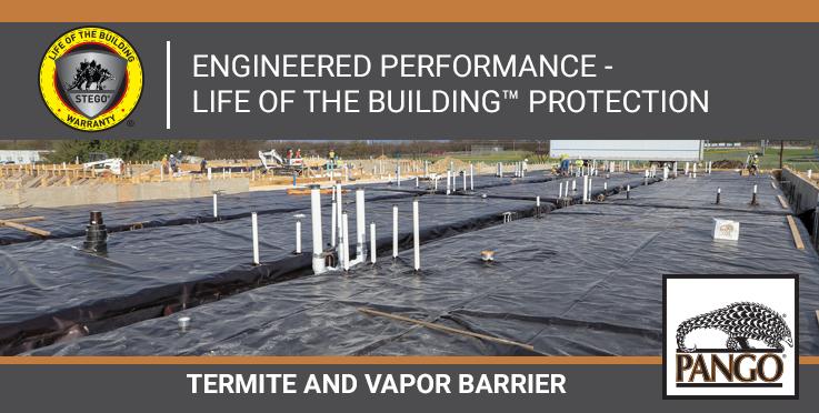 Pango Wrap Termite/Vapor Barrier
