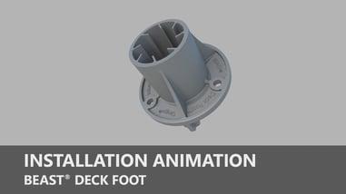 Beast Deck Foot