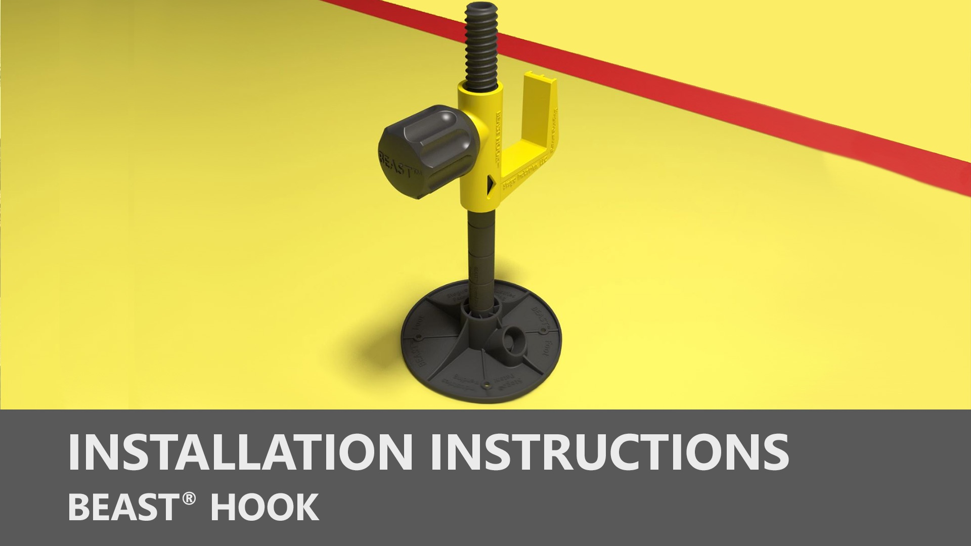 Beast Hook Installation Instructions
