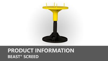 Beast Screed Product Information