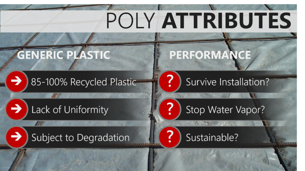 Common-poly-vapor-barrier-attributes