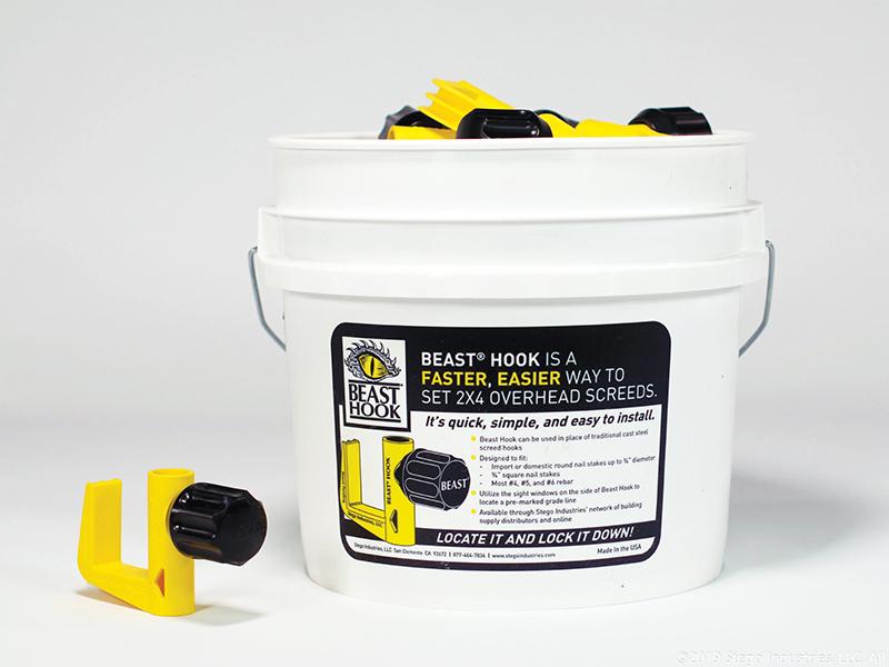 Beast Hook Concrete Screeding