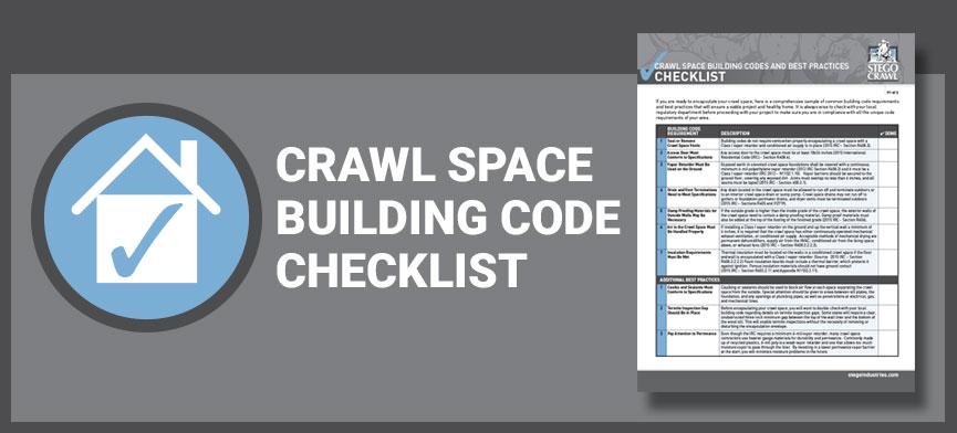 Crawl-Space-Building-Code-Checklist