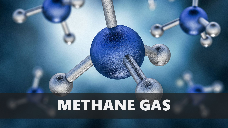 methane-gas-molecules
