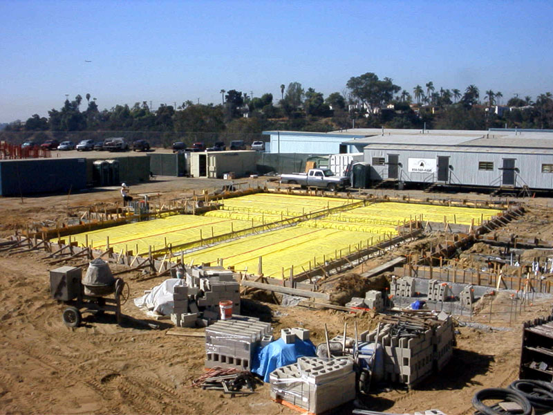 Stego Wrap Below Slab Vapor Barrier Project