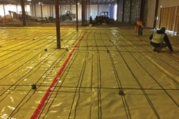Beast Screed at Chavez Concrete Construction Site